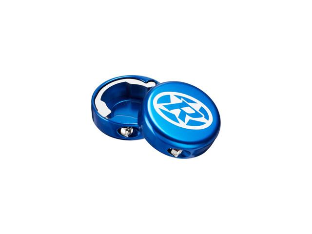 Reverse Lock-On Endkappen dunkelblau